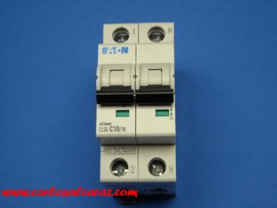 Magnetotermico 1polo+Neutro 10Amp 247645