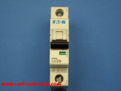 Interruptor Automático 1 polo 16A