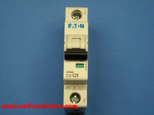 Interruptor Automático 1 polo 20A 247614