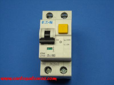 Diferencial Eaton 2x25x30mA 235753