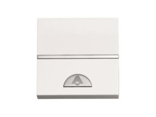 Pulsador timbre N2204BL Niessen Zenit Blanco Ancho