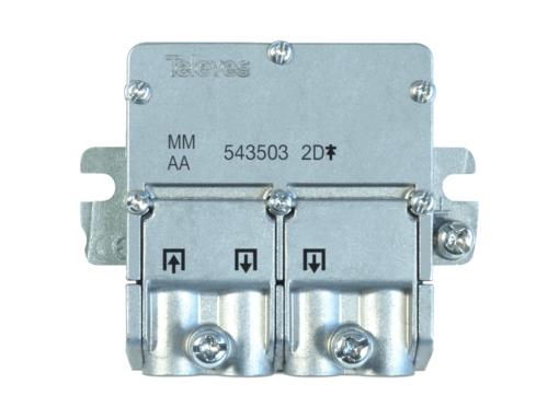 MINI REPARTIDOR 2 SALIDAS 2400MHZ EASYF 2D 4,3/4DB