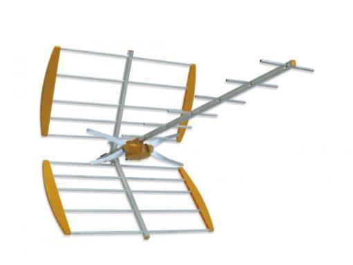 Antena robusta y compacta para la TDT.