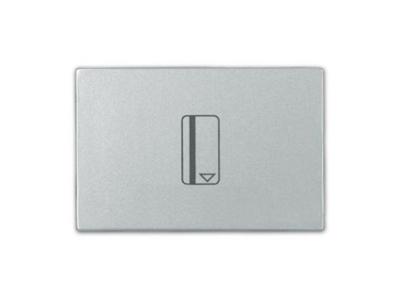 Interruptor mecánico tarjeta zenit plata