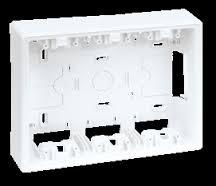 Base caja de pared de superficie de SIMON