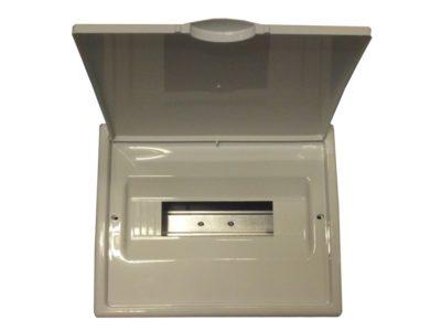 Cuadro eléctrico para empotrar de 12 elementos blanco 8688