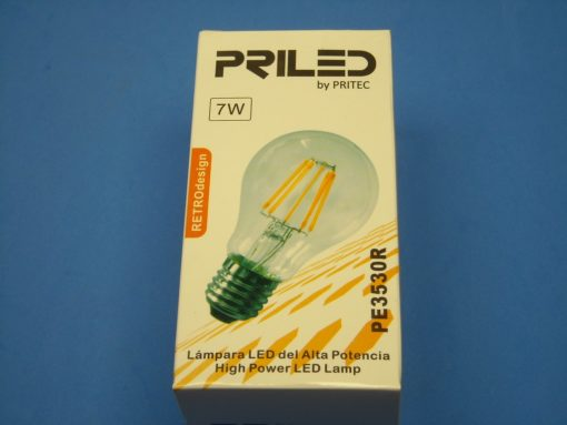 Lampara led retro7w pritec PE3530R