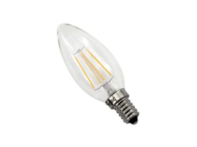 Lampara led vela 4w E14 Priled PV0430R