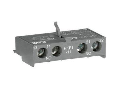 Bloque contacto auxiliar front. HkF1-11 ABB