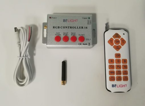 Controlador RGB RF 12V-24V para PAR56 de piscina (sólo marca BSV)