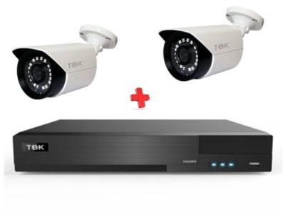 Kit videovigilancia FERMAX TVI 2C OUTDOOR