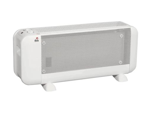 Radiador Mica BM-15 FM 1500 W / 230 V / 50 Hz. 2 potencias: 750 W / 1500 W. Alcanza pleno rendimiento en un minuto.
