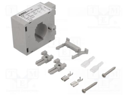 TRANSFORMADOR CORRIENTE 400A CABLE 23mm PLET. 30x10mm, 25x12,5mm, 20x15mm DM2T 0400