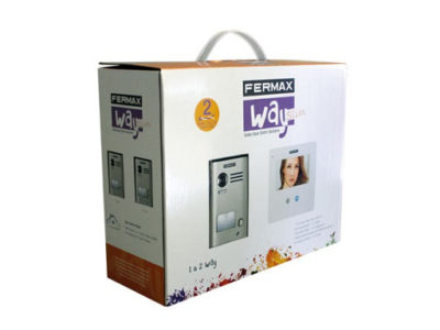 "Kit videoportero Fermax WAY SLIM 4,3"" 1421"