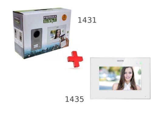 Videoporteros Fermax 1431+1435