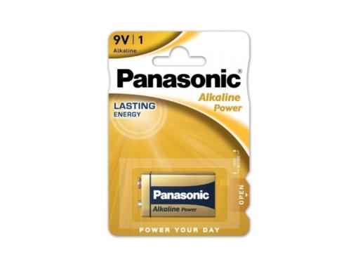 Pila alcalina Panasonic 6LR61APB