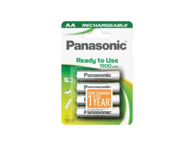 Pilas recargables AA Panasonic HHR3MVE4BC