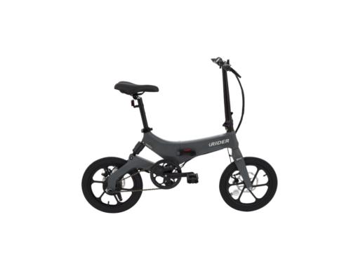 Bicicleta eléctrica iWatBike iRider Gris
