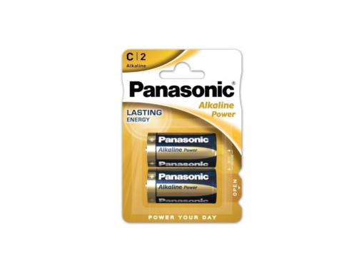 Pilas alcalina C Panasonic LR14APB/2BP