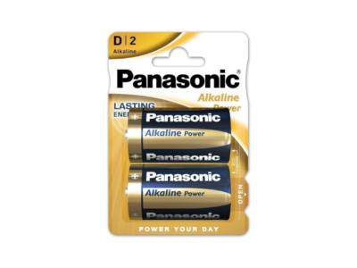 Pila alcalina D Panasonic LR20APB/2BP