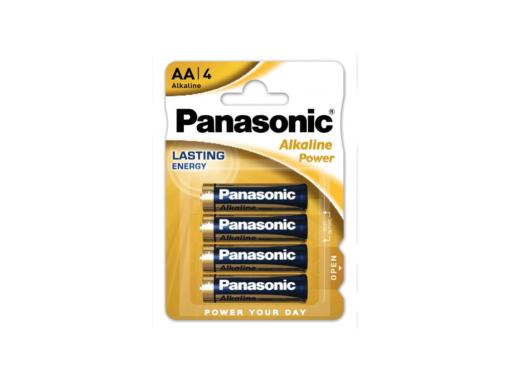 Pilas alcalina AA Panasonic LR6APB/4BP