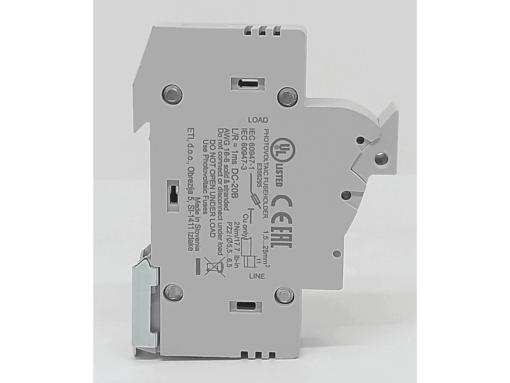 BASE CILINDRICA EFH 10x38 25A 1000VDC