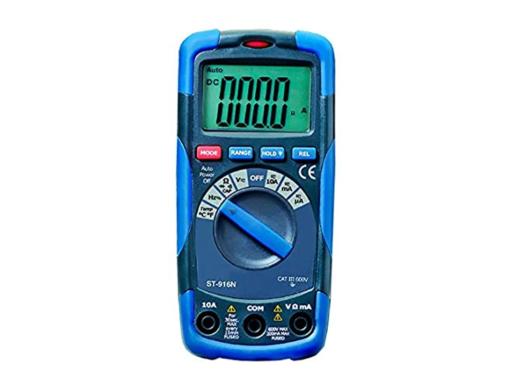 MULTDIG. ST916N 4000 CUENTAS 600V AC/DC