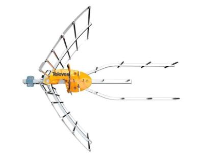 ANTENA ELLIPSE UHF ( C21-60) +ALIM. CTVO