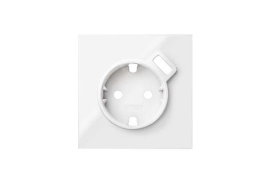 TAPA SCHUKO CON CARGADOR USB S/100 BL