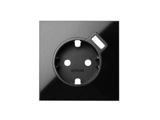 TAPA SCHUKO CON CARGADOR USB S/100 NG