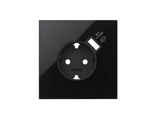 KIT FRONTAL SIMON 100 CON 1 ELEMENTO BASE CON CARGADOR USB N