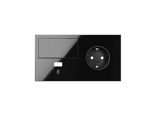 KIT FRONTAL SIMON 100 CON 2 ELEMENTOS BASE+CARGADOR USB+TECL