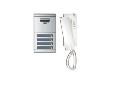 KIT PORTERO A4 C/PLACA+TELEFONO S.7