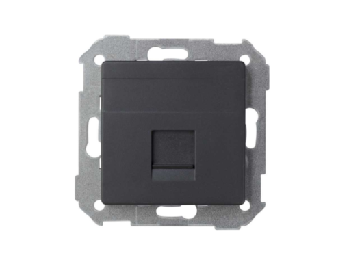 ADAPTADOR 1 CONECT RJ-AMP GRAFITO