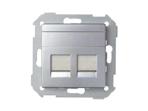 ADAPTADOR 2 CONECT RJ-AMP AL MATE
