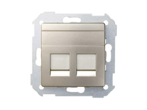 ADAPTADOR 2 CONECT RJ-AMP CAVA MATE