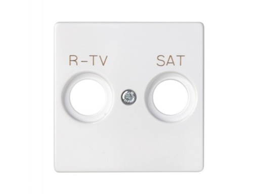 TAPA TOMA R-TV+SAT S.82 BL. NIEVE