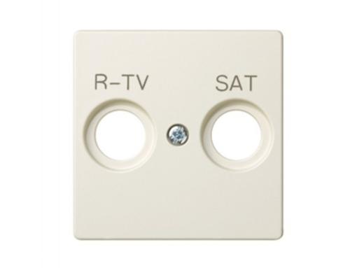 TAPA TOMA R-TV+SAT S.82 MARFIL
