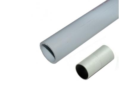TUBO ENCHF GRIS 25M/M+MANGUITO PVC