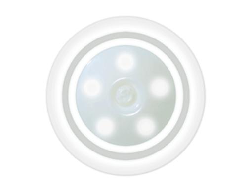 LUMINARIA LED DETECTOR MOVIL TECHO/PARED SPOTMAT 3AAA