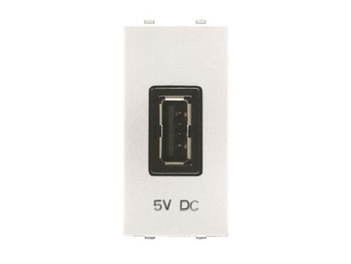 TOMA CARGADOR USB 1M 750MA/5V BL.