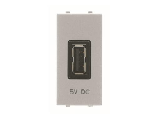 TOMA CARGADOR USB 1M 750MA/5V PT
