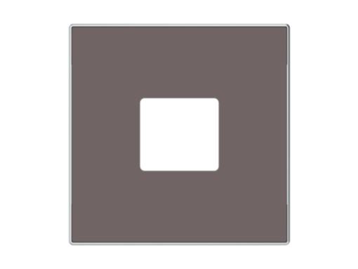 TAPA CARGADOR USB TAUPE