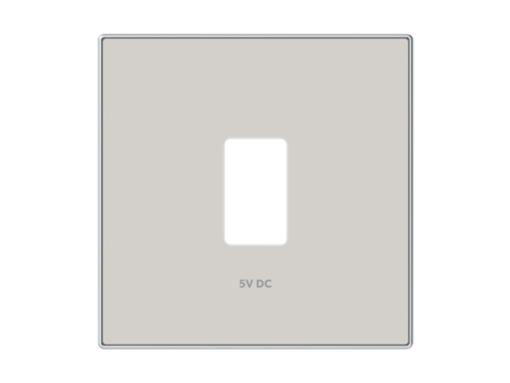 TAPA CARGADOR USB SIMPLE DUNA