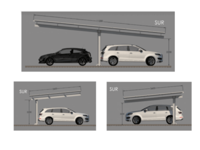 Marquesinas aparcamientos